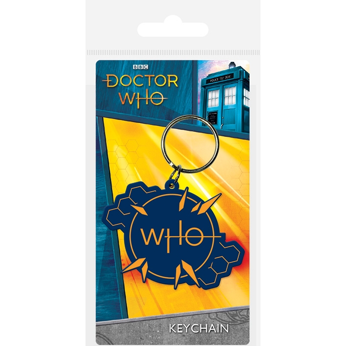 Sparkle Home And Gifts Doctor Who Keyring Insignia